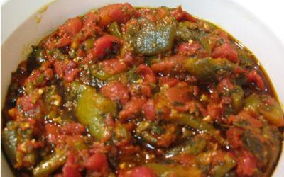Salade Méditerranéenne à la Tomate et au Poivrons