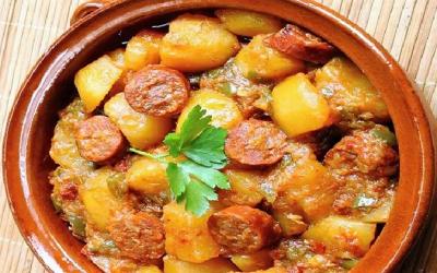 Chorizo aux Pommes de Terres