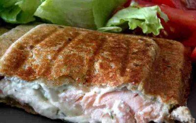 Croque-Monsieur au Saumon et Fromage frais
