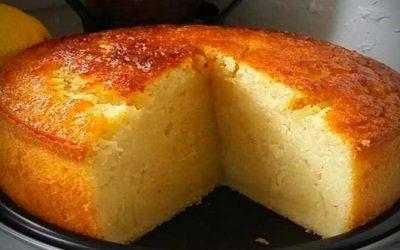 Gâteau à la Semoule Parfumé