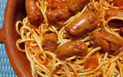 Délicieuses Spaghetti aux Merguez