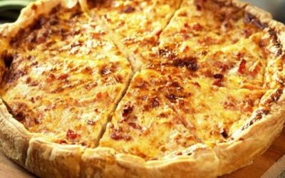 Quiche aux 4 Fromages inratable