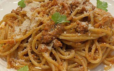 Spaghettis bolognaise Express Pas à Pas