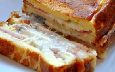 Cake Croque Monsieur Jambon Fromage